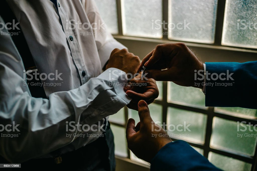Getting ready stock photo