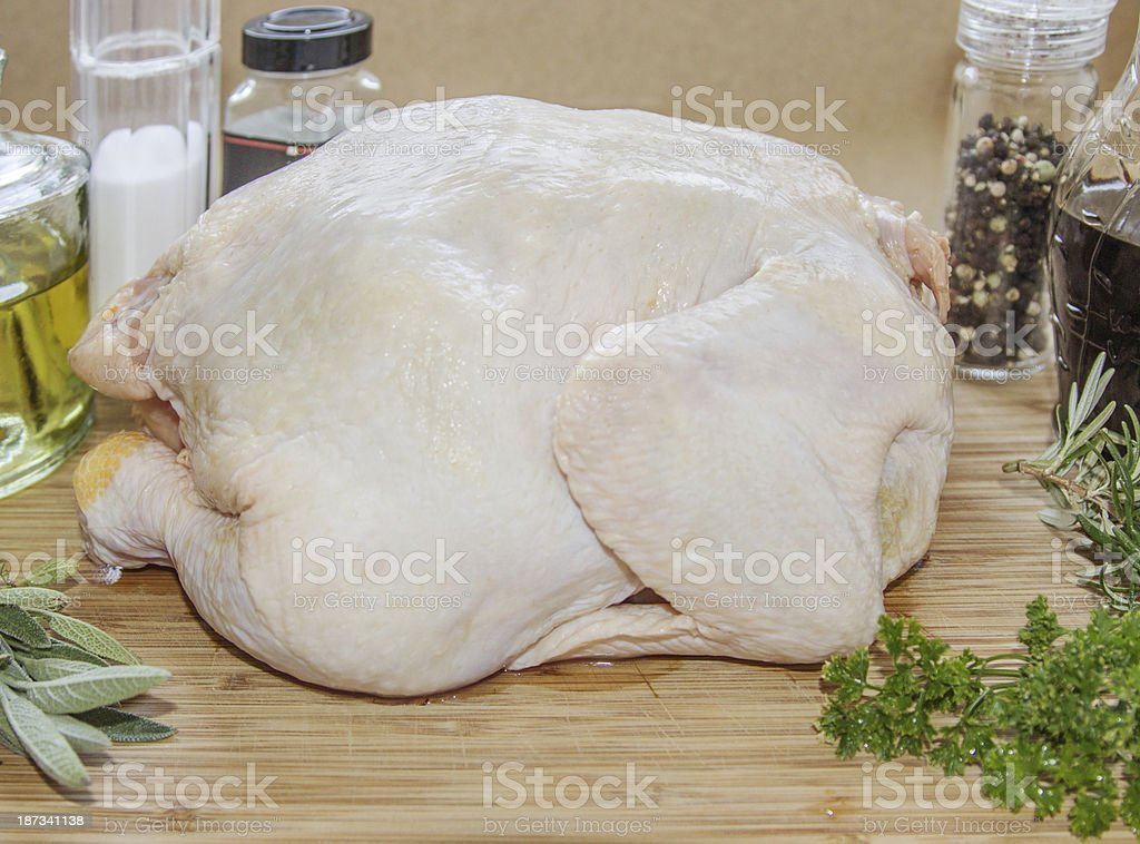 Getting ready to oven. royalty-free stock photo