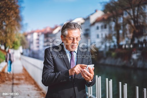 istock Getting some fresh air after a long meeting 896738190