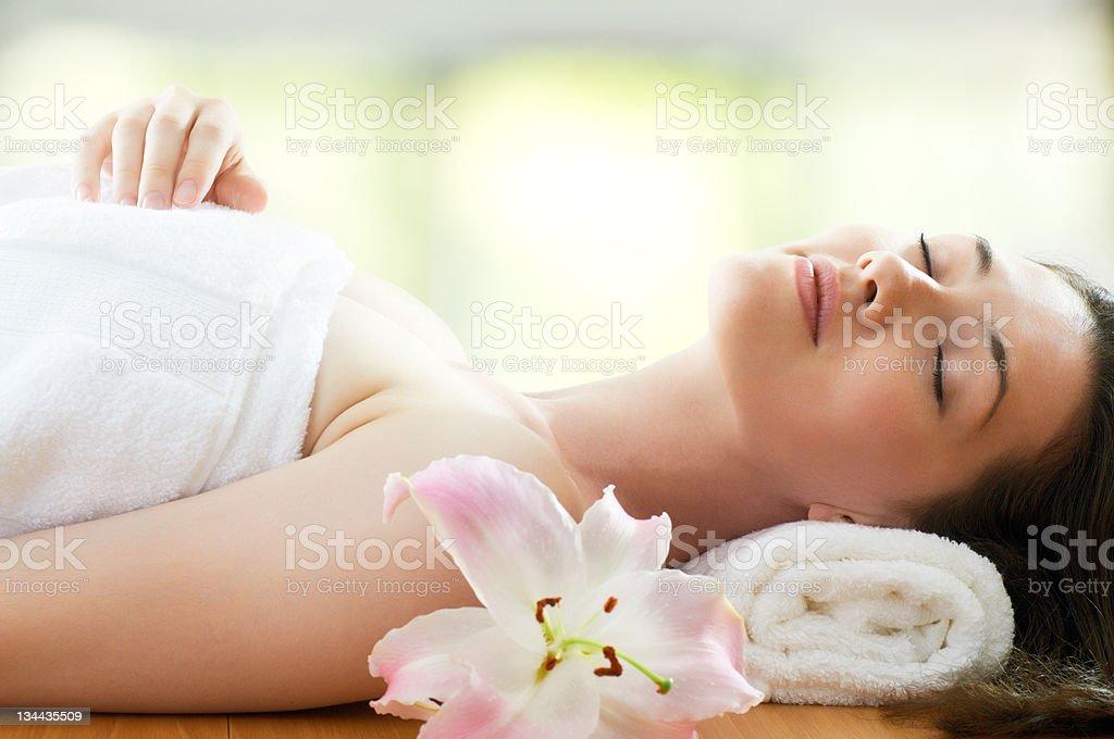 Erste spa - Lizenzfrei Alternative Behandlungsmethode Stock-Foto