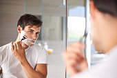 istock Getting the closest shave possible 499806291