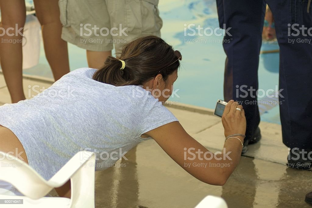 Getting the Picture royalty-free stock photo