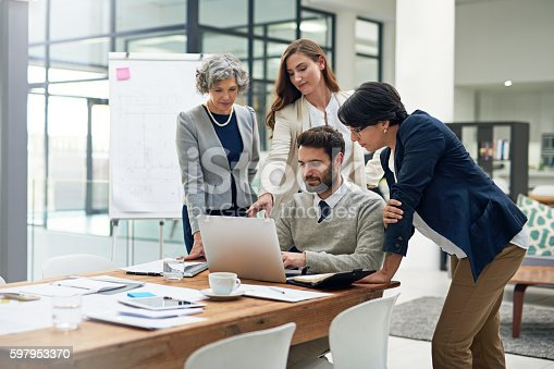 istock Getting their thoughts 597953370