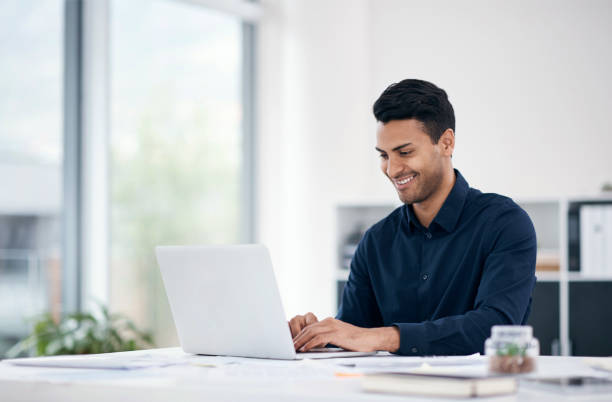 Getting things done sure feels good stock photo