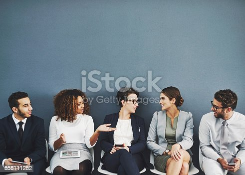 istock Getting to know the competition 858111282