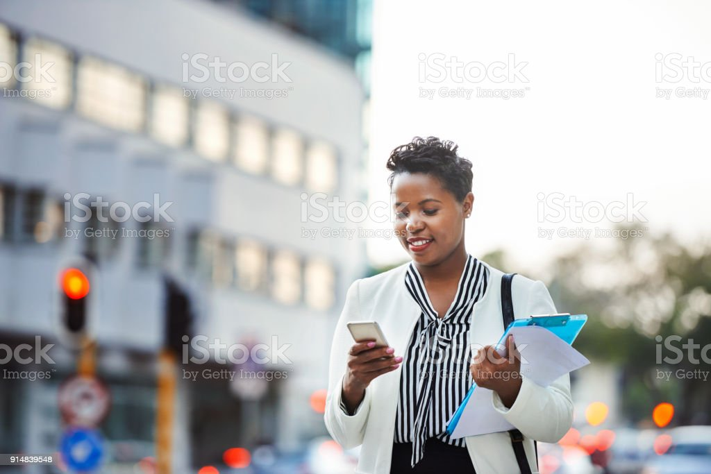 Getting work done virtually anywhere stock photo