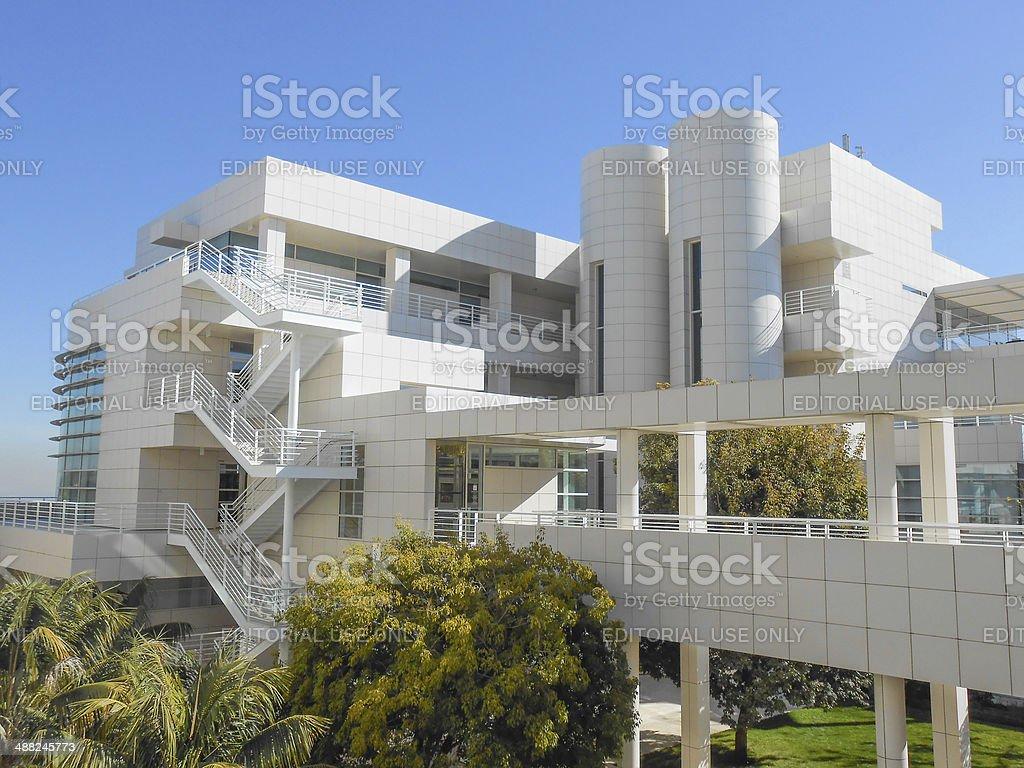 Getty Center in LA stock photo