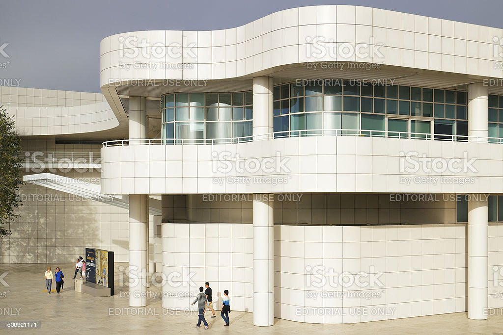 Getty Center - Los Angeles stock photo