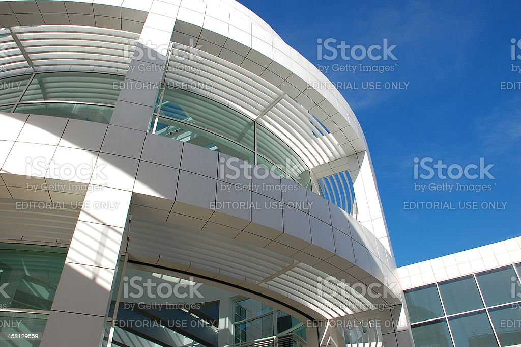 Getty Center royalty-free stock photo