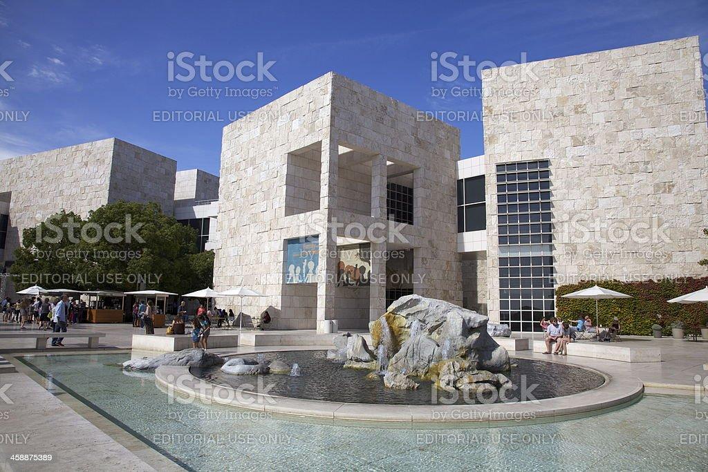 Getty Centre, Los Angeles stock photo
