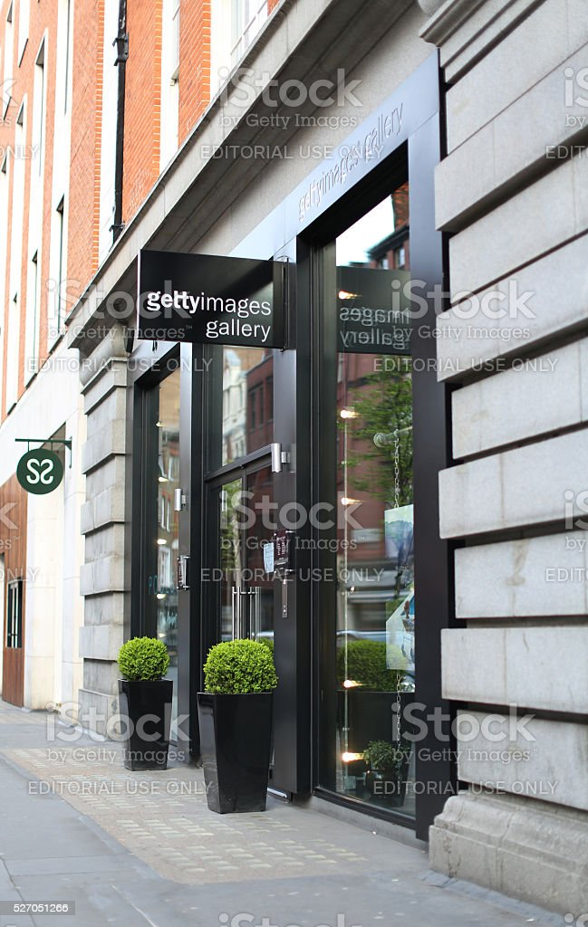 Getty Images Gallery London stock photo