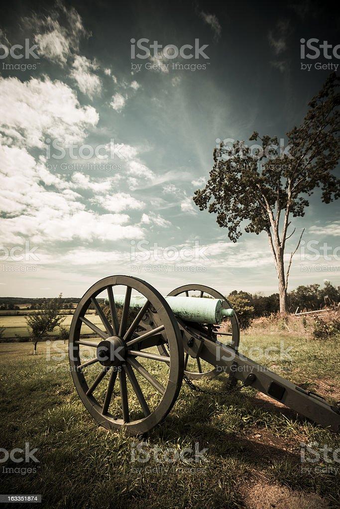 Gettysburg battlefield royalty-free stock photo