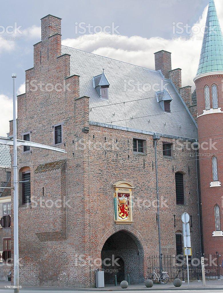 Gevangenpoort,  Hague, Den Haag. Netherlands stock photo