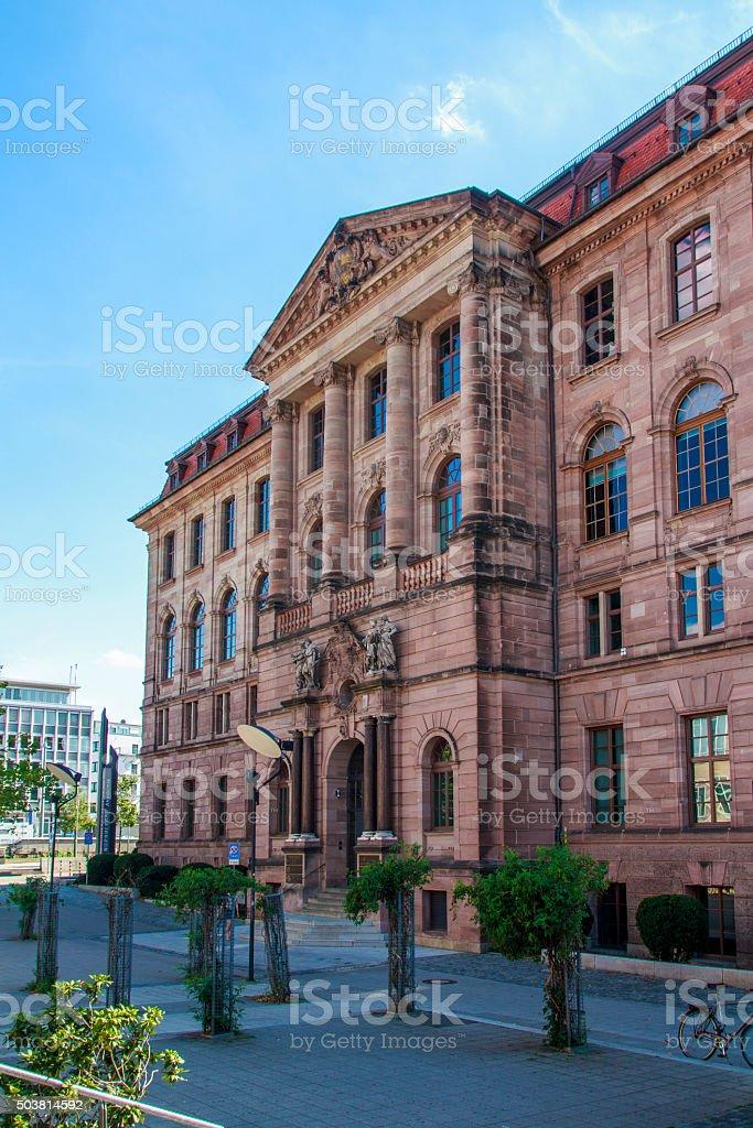 Gewerbemuseum in Nuremberg, Germany, 2015 stock photo