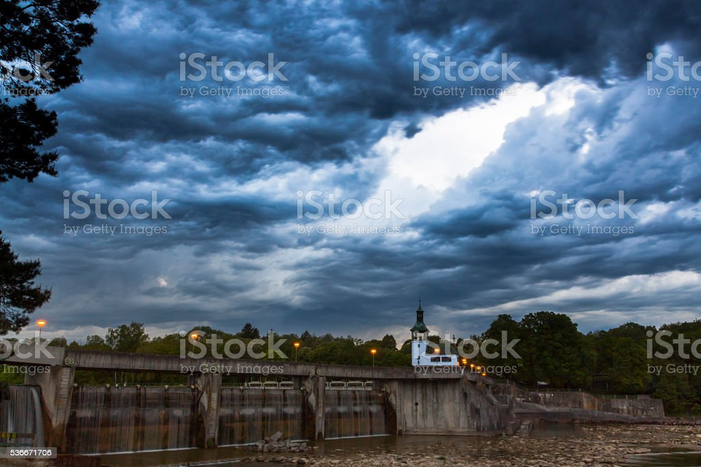 Gewitterhimmel stock photo