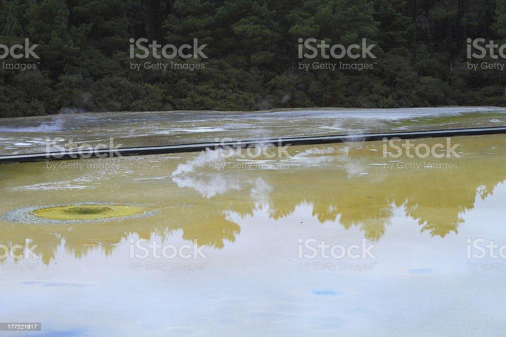 Geyser valley royalty-free stock photo
