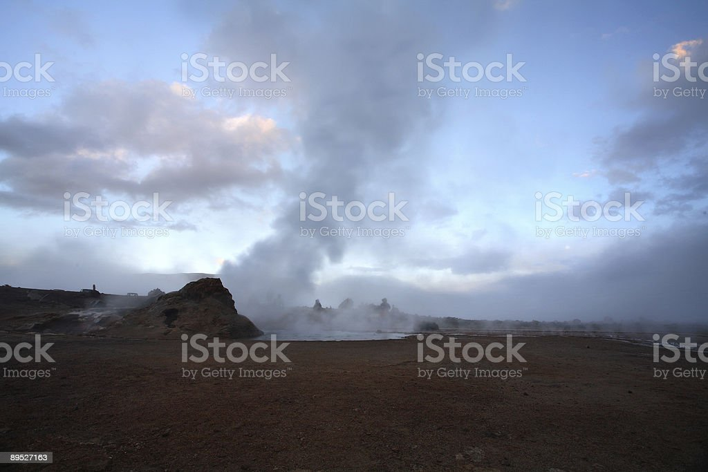 Geysers de Tatio - Atacama, Chile royalty-free stock photo
