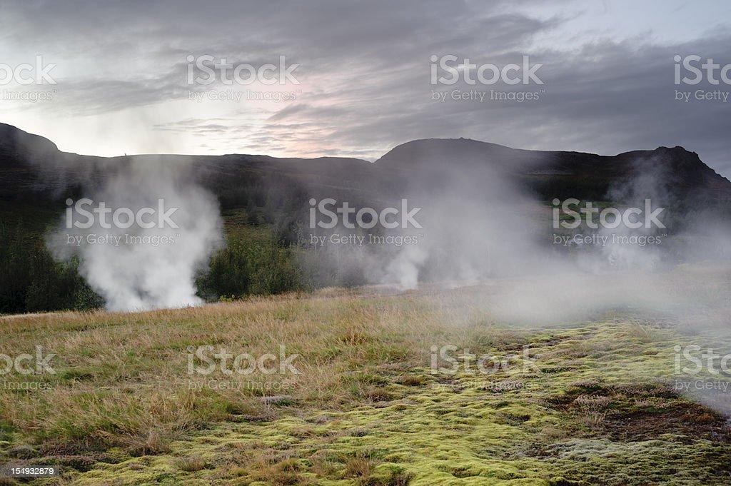 geysir geothermal area royalty-free stock photo