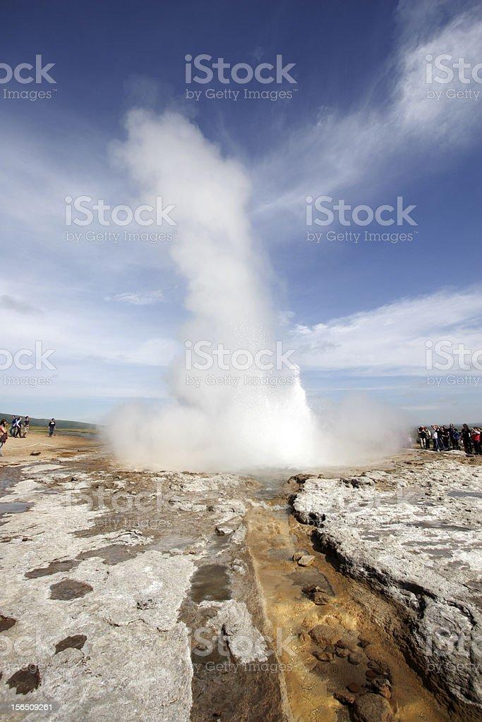 Geysir, Iceland royalty-free stock photo
