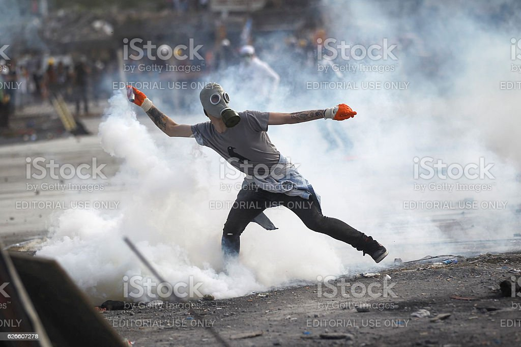 Gezi Park Protests stock photo