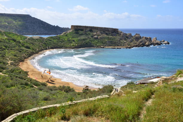 Strand Ghajn Tuffieha auf Malta – Foto