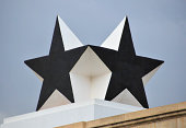 Ghana, Accra, Independence Arch, Black Star