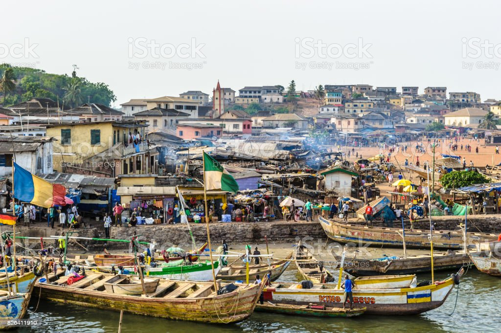 Ghana, Africa stock photo