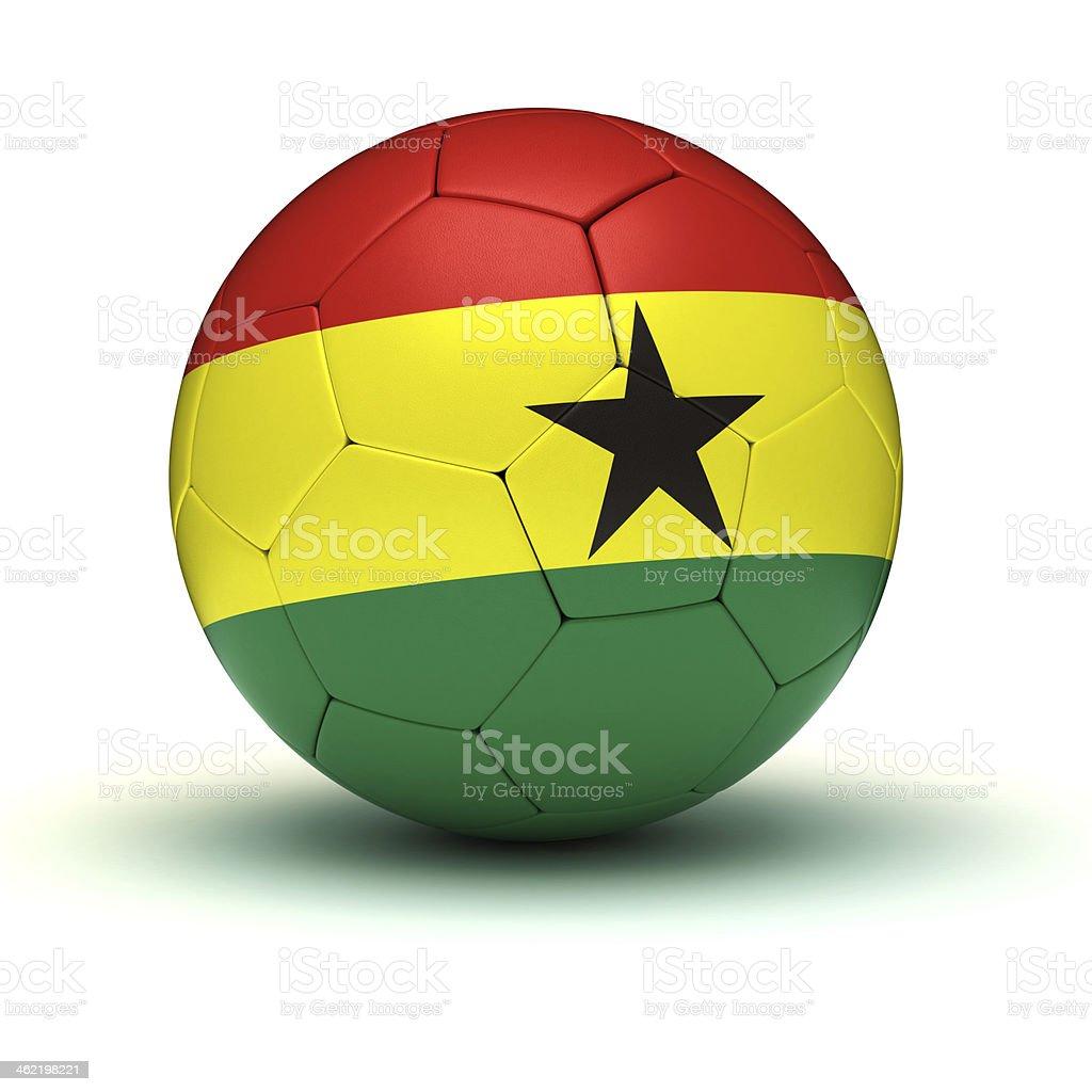 Ghanaian Football stock photo