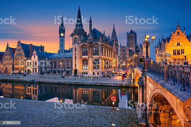 Photo of Ghent.