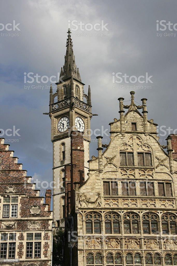 Ghent royalty-free stock photo