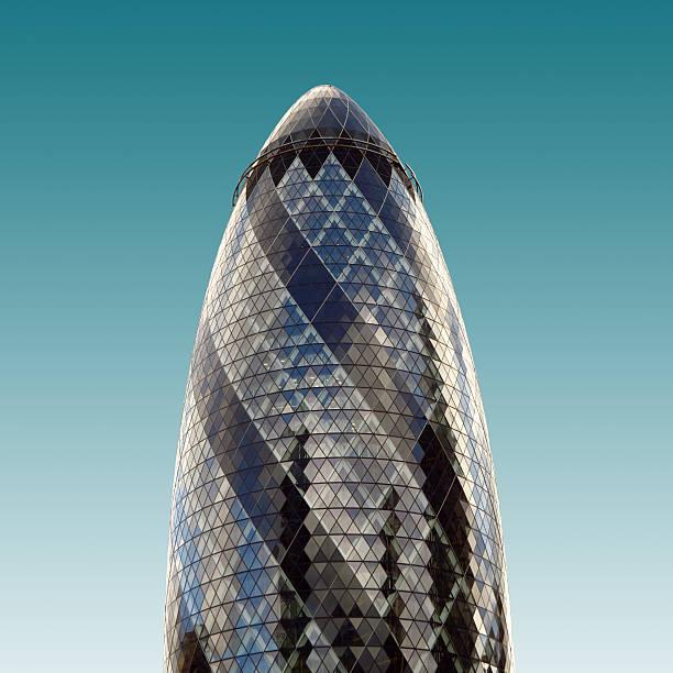 Gherkin Building - London stock photo
