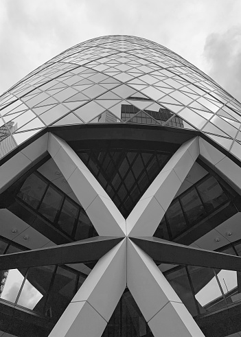 Gherkin Tower Stock Photo - Download Image Now