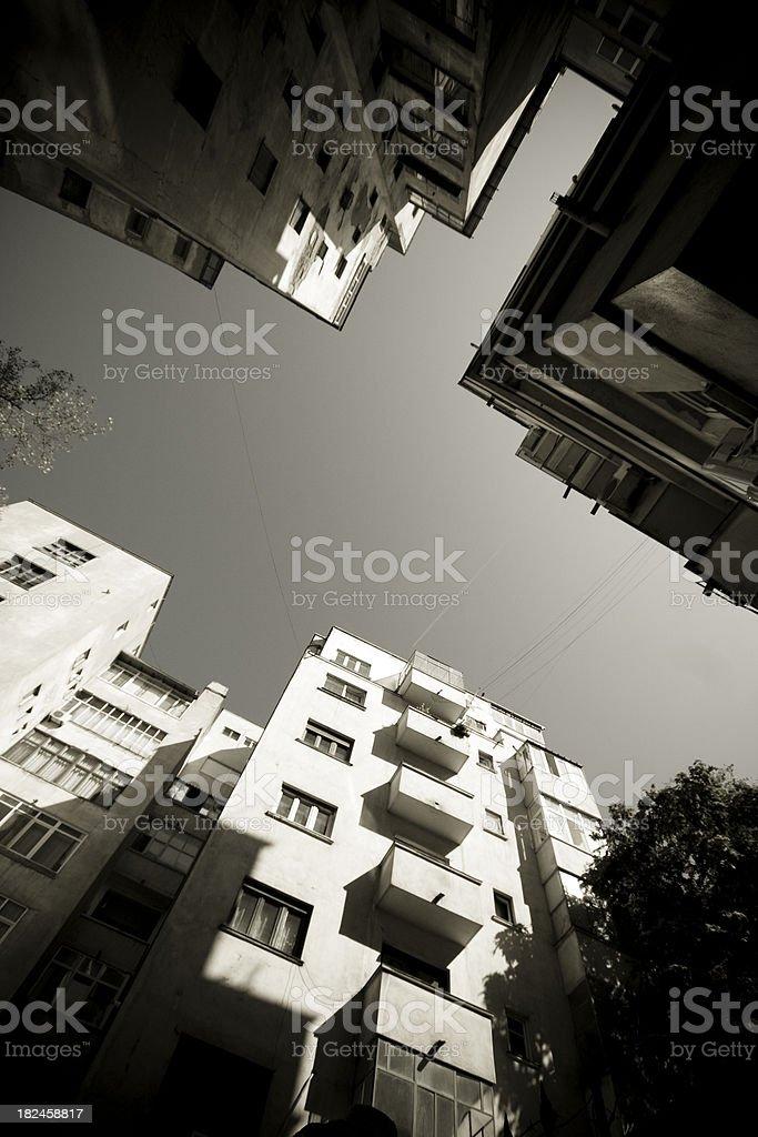 Ghetto planos foto de stock libre de derechos
