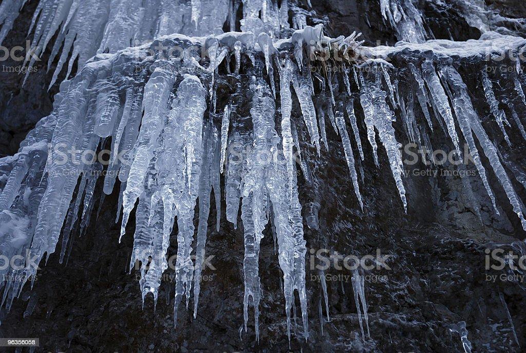 ghiaccioli da cascata royalty-free stock photo