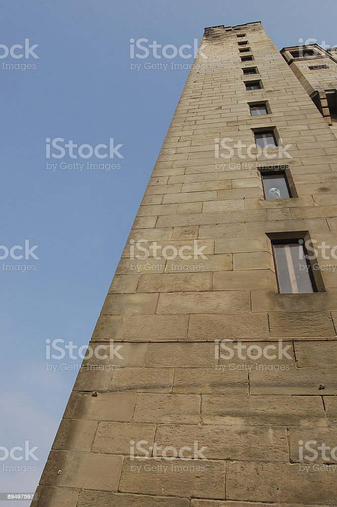 Ghost Castle royalty free stockfoto