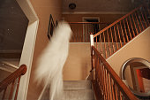 Ghost Caught On Film Spirit Roaming Though House