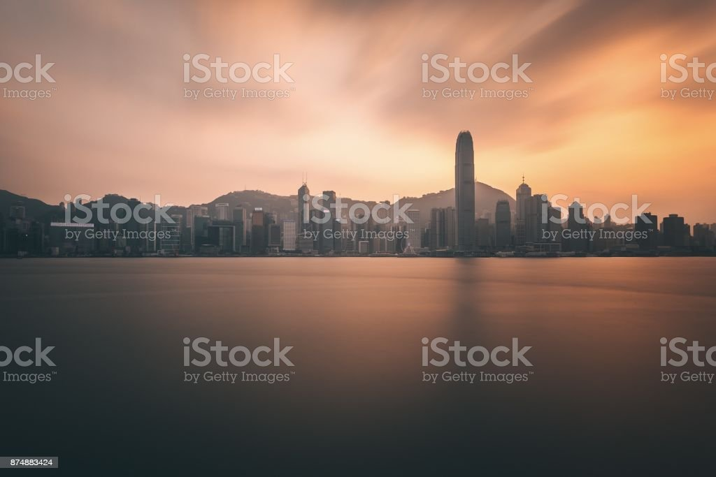 Ghost City stock photo