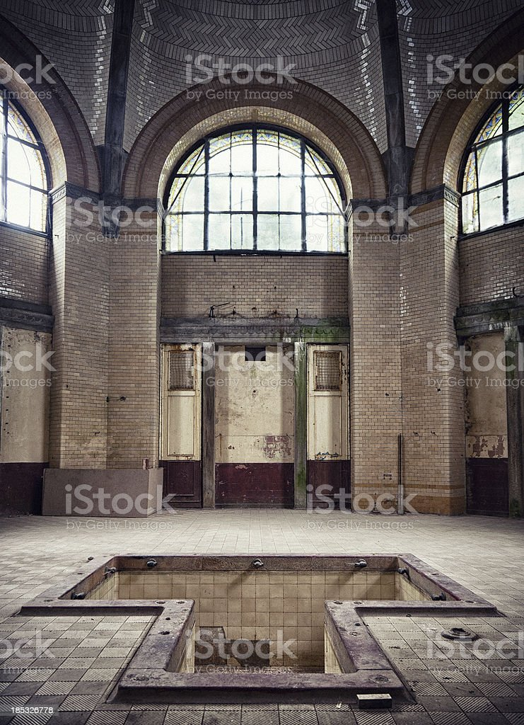 ghost house royalty-free stock photo