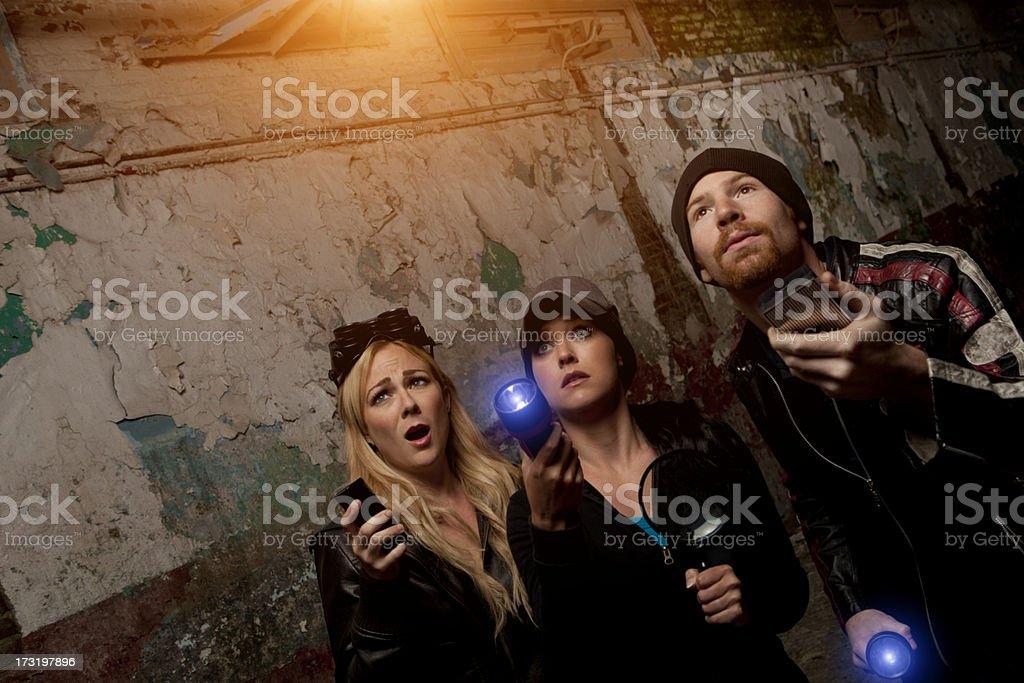Ghost Hunters stock photo
