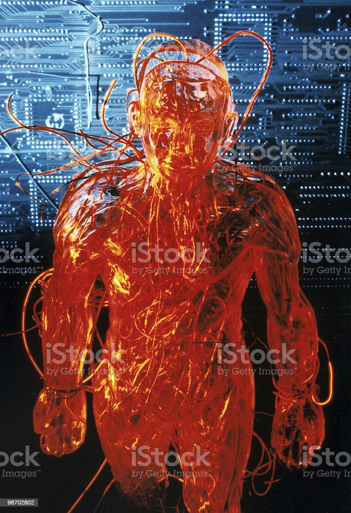 Ghost in the Machine royalty-free stock photo