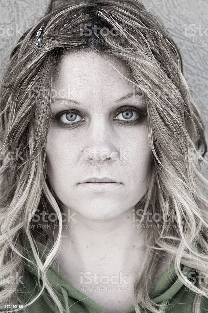 Ghost of a woman royalty-free stock photo