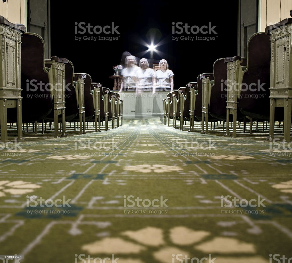 ghost of the opera house royalty-free stock photo