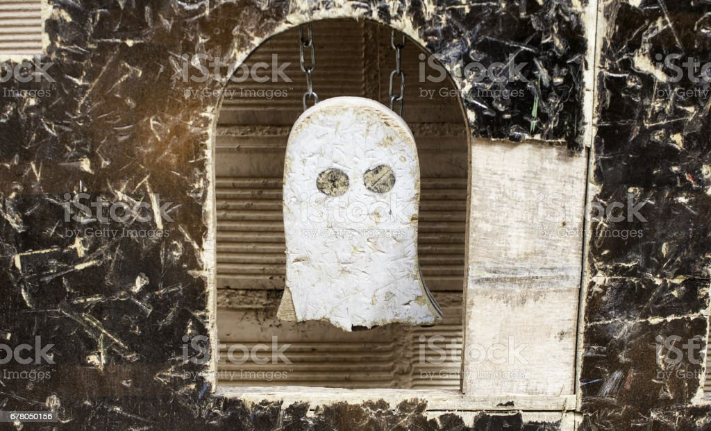 Ghost of wood stock photo