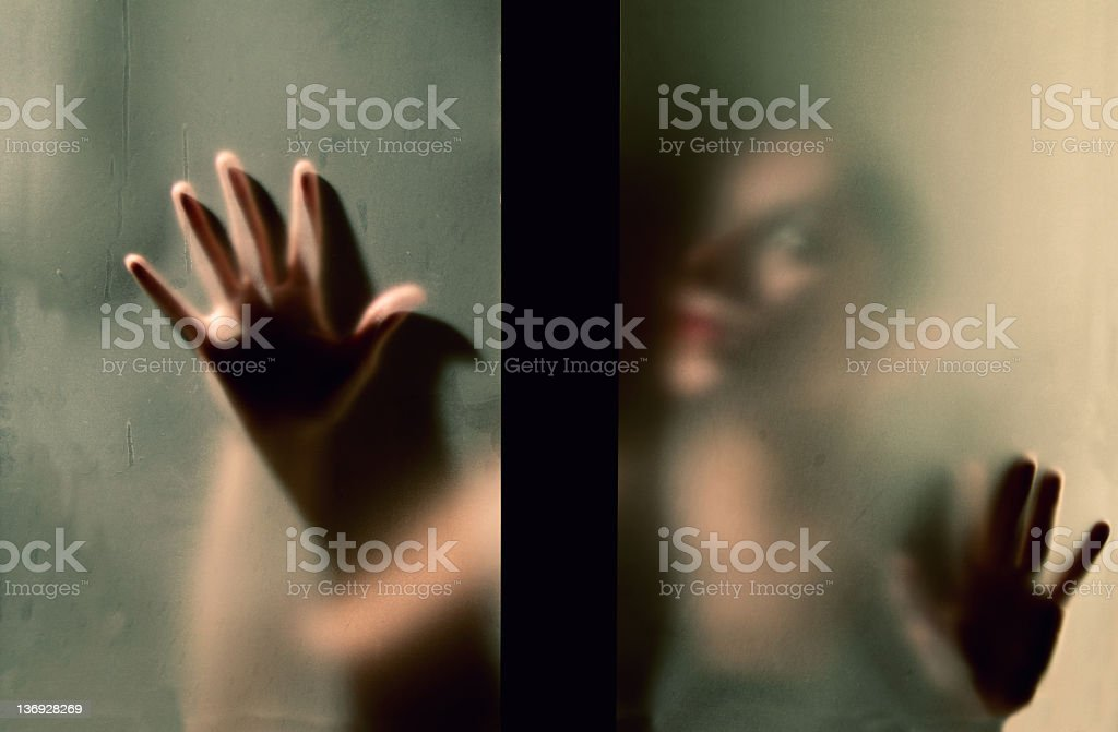 Ghost Silhouette Adult Stock Photo