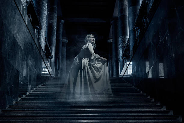 ghost - gothic style stock pictures, royalty-free photos & images