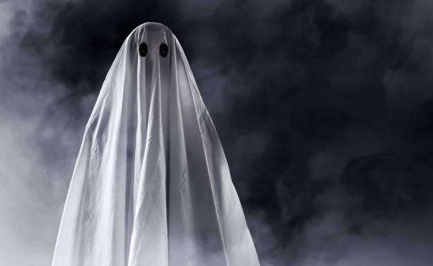 Ghost Ghost costume stock pictures, royalty-free photos & images