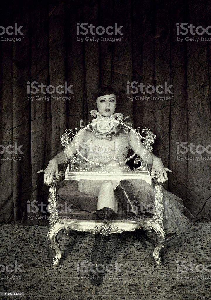Ghost Portrait royalty-free stock photo