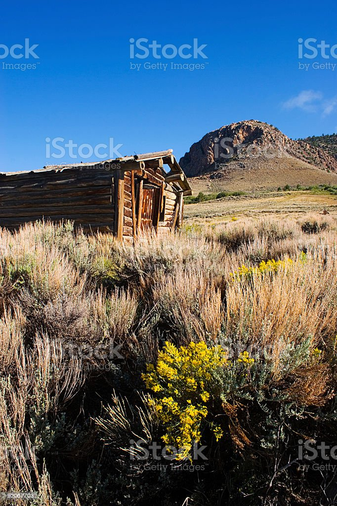 Ghost Ranch House Two royalty-free stock photo