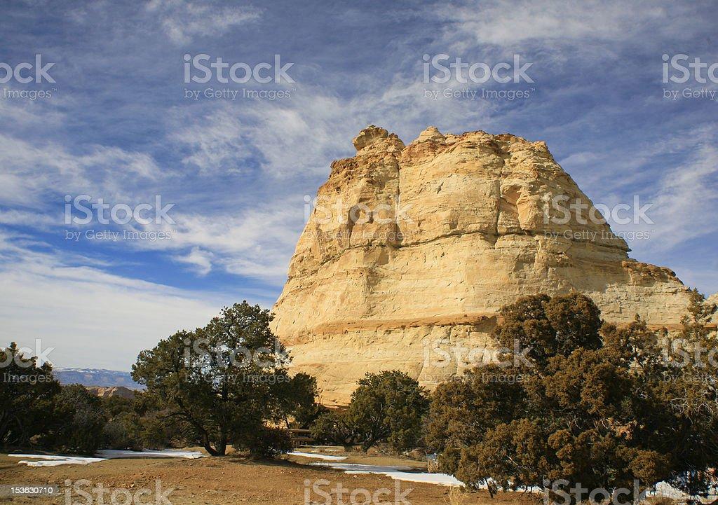 Ghost Rock, Southern Utah, USA stock photo