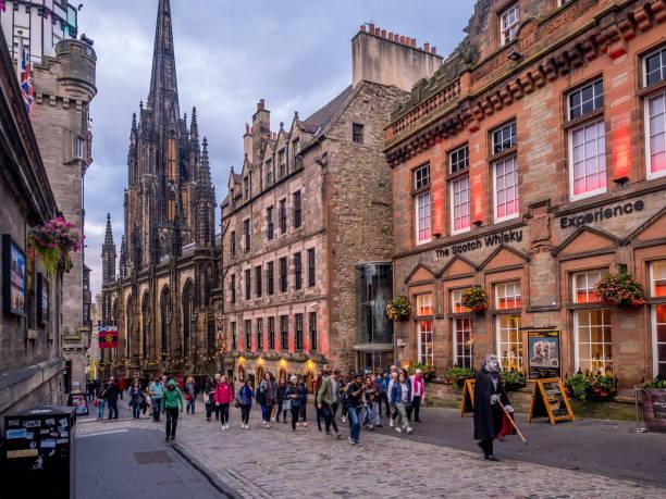 Ghost tour, Edinburgh - foto stock